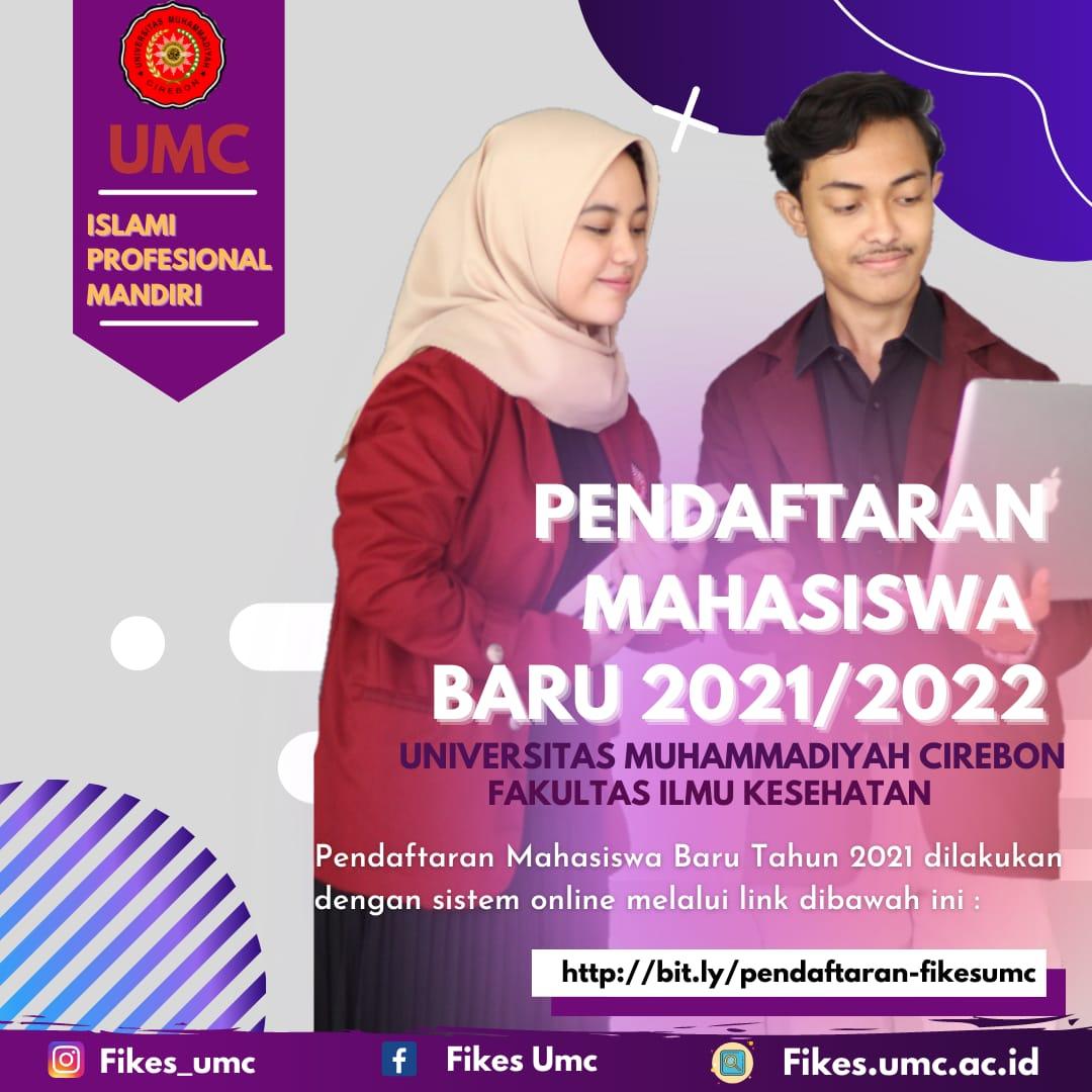 Info Penerimaan Mahasiswa Baru FIKES Universitas Muhammadiyah Cirebon